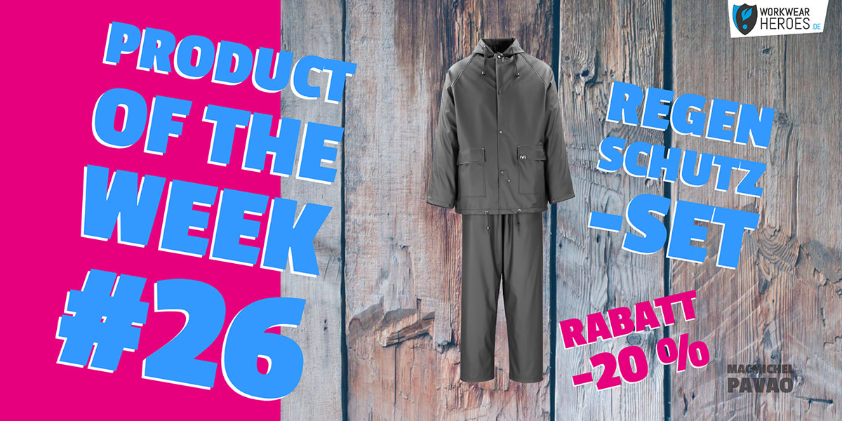 Product of the week #26: MacMichel PAVAO Regenschutzset