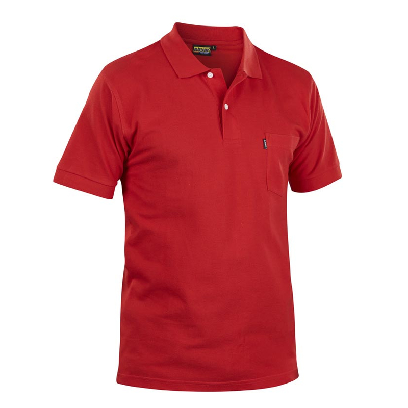 BLAKLADER 3305 Polo-Shirt - 5600 Rot - XL
