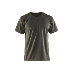 BLAKLADER 3323 T-shirt UV-protection - 4600 Army green - XXL