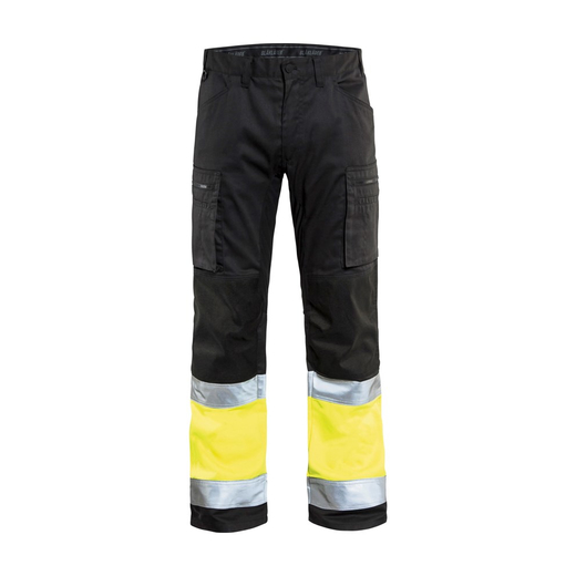 BLAKLADER High Vis Bundhose mit Stretch dunkel