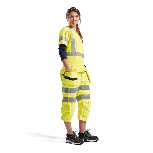 BLAKLADER Damen High Vis T-Shirt
