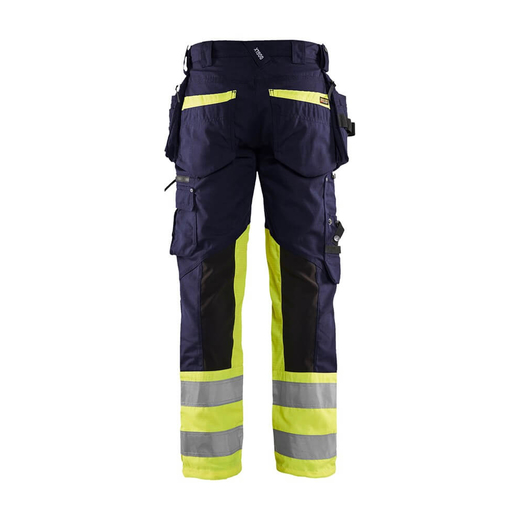 BLAKLADER 1994 High Vis Arbeitshose Stretch